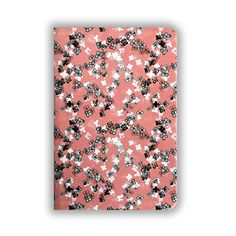 Coral Ditsy Floral Notebook Bee Design, Pattern Design, Hardback Notebook, Ditsy Floral, Coral Color, Things To Come, Notes, Paper, Gifts