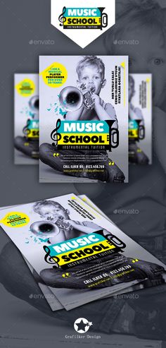 Musical Instruments Flyer Template PSD, InDesign INDD. Download here: http://graphicriver.net/item/musical-instruments-flyer-templates/16335078?ref=ksioks