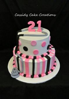 West Tigers themed 21st birthday cake My Cakes Pinterest 21st