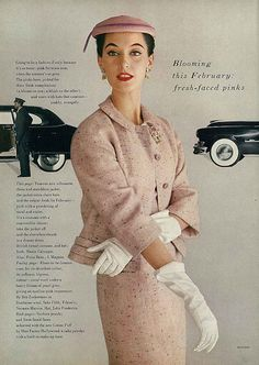 February Vogue 1953 | Flickr - Photo Sharing!