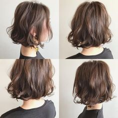 Japanese hairstyle design has always had its characteristics. So today we have collected 65 kinds of Japanese Messy short hairstyles idea. Let's look for amazing hair inspiration. Stacked Bob Hairstyles, Bob Hairstyles For Fine Hair, Hairstyles Haircuts, Korean Short Hair, Messy Short Hair, Bob Perm, Medium Hair Styles, Curly Hair Styles, Shot Hair Styles