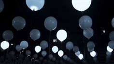 This Floating Sea Of LED Balloons Turns Music Into Dynamic Patterns | The Creators Project