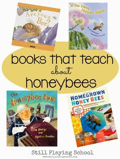 Children\'s Books about Honey Bees