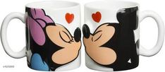 Checkout this latest Mugs Product Name: *Coffee Mug For Couples gifts and personal use, ceramic mug set of 2* Material: Ceramic Pack: Pack of 2 Easy Returns Available In Case Of Any Issue   Catalog Rating: ★4.3 (2273)  Catalog Name: Trendy Coffee Mugs & Gifts CatalogID_1013227 C190-SC2066 Code: 682-6372665-516