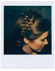 Carrie Fisher hair tests