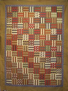 Free five bar square quilt pattern.