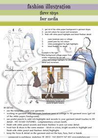 Fashion Illustration Template Worksheet (Download)