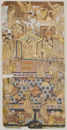 The Queen of Sheba Enthroned