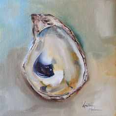 Contemporary Artists of Texas: Oyster Shell by Kristine Kainer Contemporary Stairs, Contemporary Cottage, Contemporary Chandelier, Contemporary Landscape, Contemporary Interior, Contemporary Paintings, Landscape Art, Contemporary Building, Kitchen Contemporary