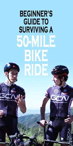 .A beginner's guide to surviving a 50-MILE bike ride. #cyclingtips #cyclingadvice