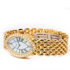 Chopard 18CT Yellow Gold Diamond Watch