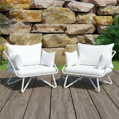 Sunbrella Canvas White. 🤍 EEK ! White fabric outdoors? YES! This white upholstery fabtric will stay as pure, unadulterated as its first day thanks to its 100% solution-dyed acrylic, which is resistant to stains, soil, UV rays, mold, and mildew. A versatile, resilient fabric that can endure both the sun's harsh rays and your child's favorite ice cream. It is part of our most popular collection of fabrics for a good reason. In stock and available now for a 10 day turnaround! 👍😊 Outdoor Sofa Sets, Outdoor Lounge, Outdoor Spaces, Outdoor Chairs, Outdoor Furniture Sets, Outdoor Decor, Outdoor Living, Backyard Furniture, Outdoor Cushions