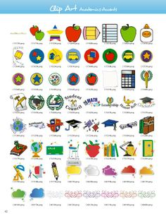 Academic-Accents Clipart