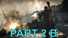Sniper Elite 4 campaign gameplay walkthrough bitanti village part 2 B