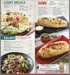 Cheesesteak, Pizza, Menu, Ethnic Recipes, Creative, Food, Menu Board Design, Essen, Meals