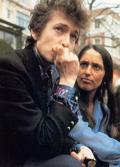 Bob & Joan.  Very illustrative of the direction their relationship went.