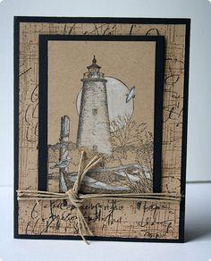Handmade Nautical Card