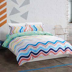 100% cotton bedding sets ripple luxurious duvet cover 4pcs bedlinen bedclothes sheet bed set linen queen king bedclothes #Affiliate
