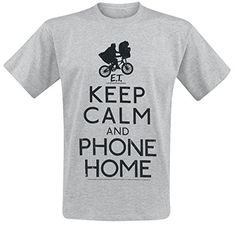CAMISETA E.T KEEP CALM L #camiseta #realidadaumentada #ideas #regalo