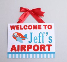 for Jet's baby shower-Hostess with the Mostess® - Airplane Party Theme