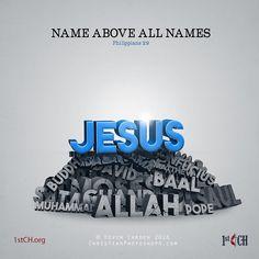 Name above all names. – Philippians 2:9 TonyEvans.org