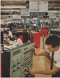1966 IBM System 360 Computer Tests 4 General Dynamics EASTMAN KODAK 2pg Print Ad