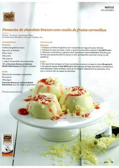 Revista Bimby Setembro 2015 Thermomix Desserts, Kitchen Time, Multicooker, Recipe Cards, Cooking Tips, Panna Cotta, Nom Nom, Cake Recipes, Brunch
