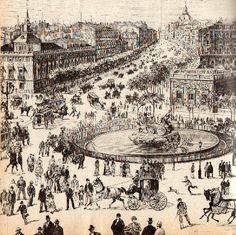 El Madrid romántico de finales del siglo XIX