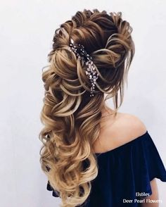Elstiles long wedding hairstyles for bride