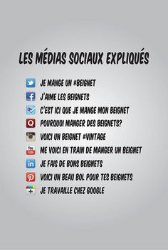 Humour: les médias sociaux expliqués by La Fabrique de Blogs, via Flickr