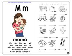 Bilingual Education, Kids Education, Grade 1 Reading Worksheets, Jolly Phonics, Math For Kids, Teaching Spanish, Learn To Read, Preschool Activities, Kids Learning