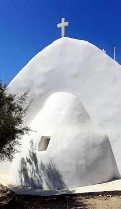 St. George Chapel, Naxos Island, Greece | Flickr - Photo by fotisvr