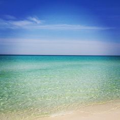 Florida has the most beautiful white sand beaches in the world, and Destin has the most beautiful water!