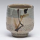 Shoji Hamada (1894-1978, Japan)                  Tea Bowl  ca 1961Stoneware