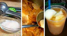 El exquisito tejuino que gustosamente disfrutamos en cada rincón de la Perla Tapatía, ahora también lo podemos hacer de forma muy sencilla con la siguiente receta. Ingredientes: 1 Kilode Masa de maíz 1 Kilode Piloncillo 3 Litros de agua 2limones Sal al gusto Hielo picado Nieve de limón (opcional) Preparación: 1. Hervir el agua y…