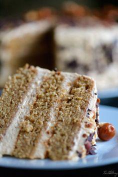 Tarta de Baileys y dulce de leche Chesee Cake, No Bake Cake, Food N, Food And Drink, Baking Recipes, Cake Recipes, Desert Recipes, Cakes And More, Vanilla Cake