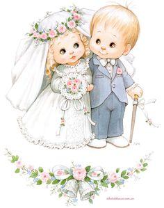 Boda Ruth Morehead Ilustraciones tarjetas para Invitación