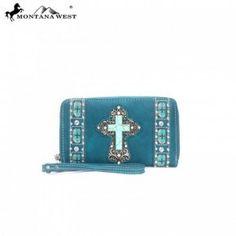 $39.99 Western Cross Turquoise Wallet