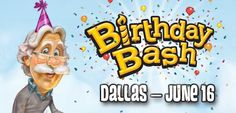 We'll be doing a live Adventures in Odyssey show from Dallas this June. Check out the details here!