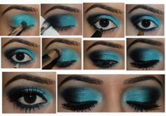 .♥. Tudo de Maquiagem .♥.: Maquiagens passo a passo com fotos e fáceis de fazer