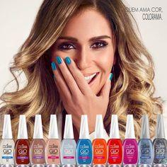 Esmaltes e Misturas: Lançamento GIO ANTONELLI - Colorama