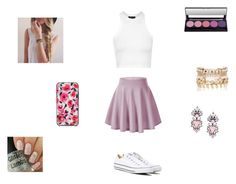 """Untitled #28"" by missyt123 on Polyvore featuring Topshop, Converse, Erickson Beamon, River Island and Kate Spade"