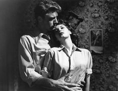 Burt Lancaster and Ava Gardner in 'The Killers' from 1936 - early example of film noir - superb film.