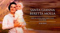 """El 28 de abril la Iglesia celebra a Santa Gianna, declarada patrona de madres, médicos y niños por nacer, a quien el Beato Pablo VI describió como """"una madre que, para dar a luz a su bebé, sacrificó la suya propia en una inmolación deliberada""""."""