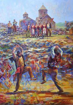 Հայաստանը արվեստի աչքերով️️ ՅԱՐԽՈՒՇՏԱ,Հայկական ռազմապար | Yarkhushta, Armenian wardance Յարխուշտա ռազմական խաղ-պարը տարածված է եղել Սասունում: Պարի անվանումն ունեցել է տարբեր մեկնաբանություններ, որոնցից մեկն այն է, որ Յարխուշտա նշանակում է զենքի ընկեր: Յար պարսկերեն նշանակում է ոչ միայն սիրեցյալ, այլև ընկեր, իսկ խըշտ, խըշտիկ` կարճ նիզակ, զենք: Յարխուշտա ռազմական խաղ-պարը, պատկանում է Ծափ պարերի տեսակին և առանձնանում յուրօրինակ կառուցվածքով, խաղային, երաժշտական, բանահյուսական տեքստերով և գ