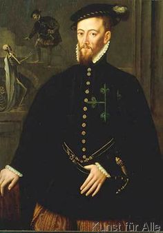 Sir Anthonis van Dashorst Mor - Bildnis des Marqués de la Navas