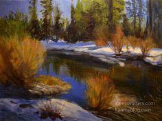 Sierra oil painting |
