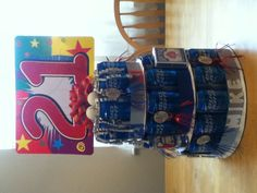 21st birthday beer can cake