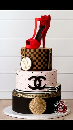 European Designer Birthday Cake