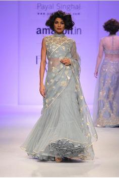 Payal Singhal Bridal Collection : ROSELYN LEHENGA SAREE